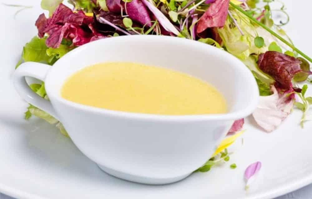 Molho francês simples para salada