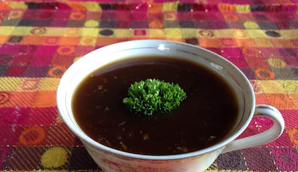 Molho de soja para carne