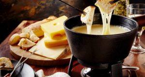 Fondue de queijo econômico