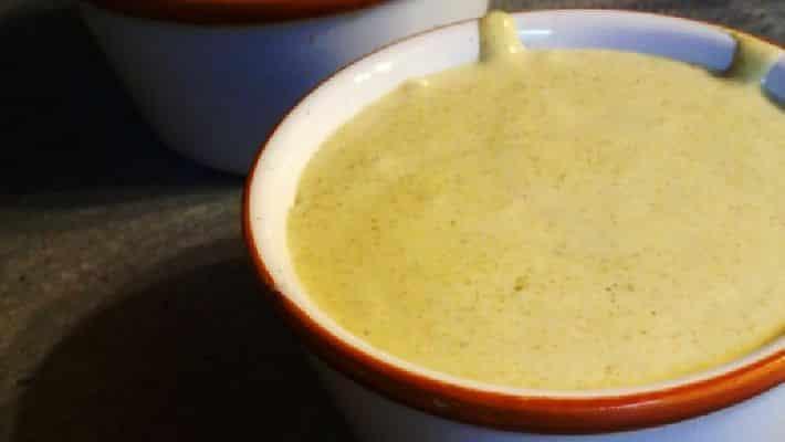 Receita de molho para fondue