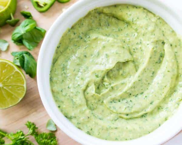 Receita de molho verde canário