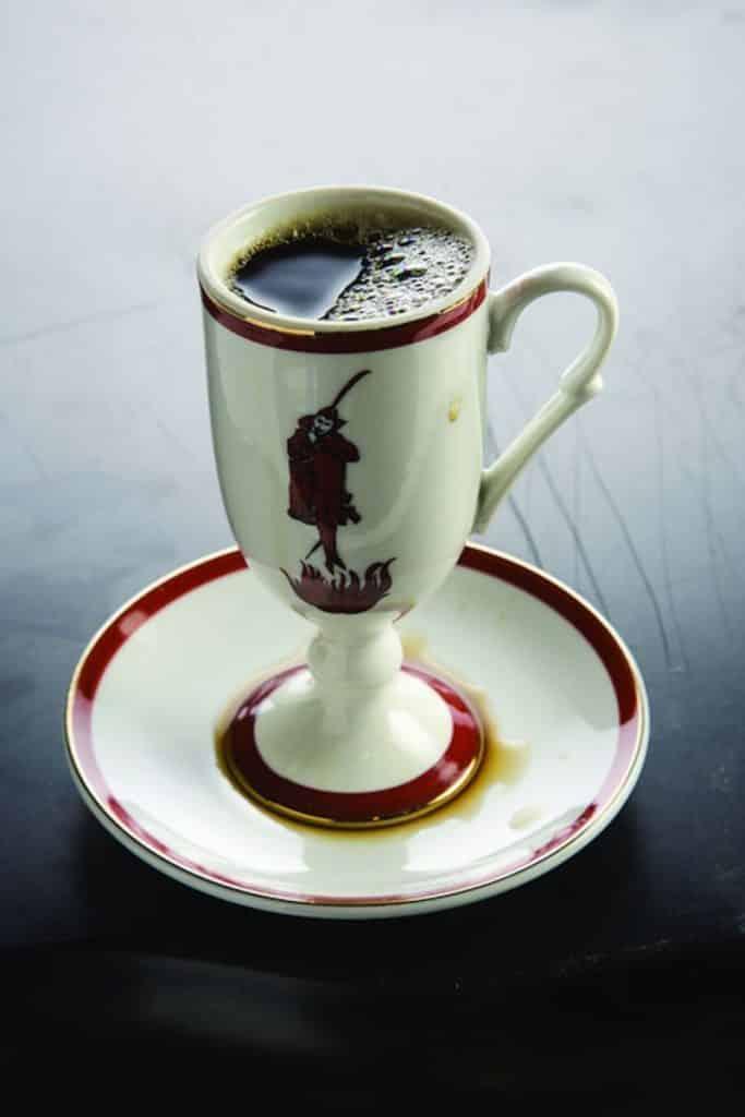 Receita de café diabolique