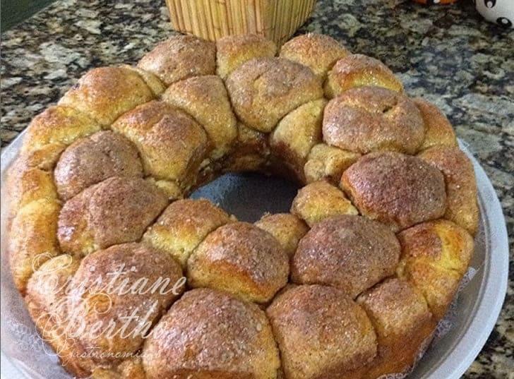 Receita de pão húngaro de limão