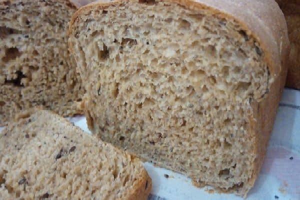 Receita de pão integral fácil