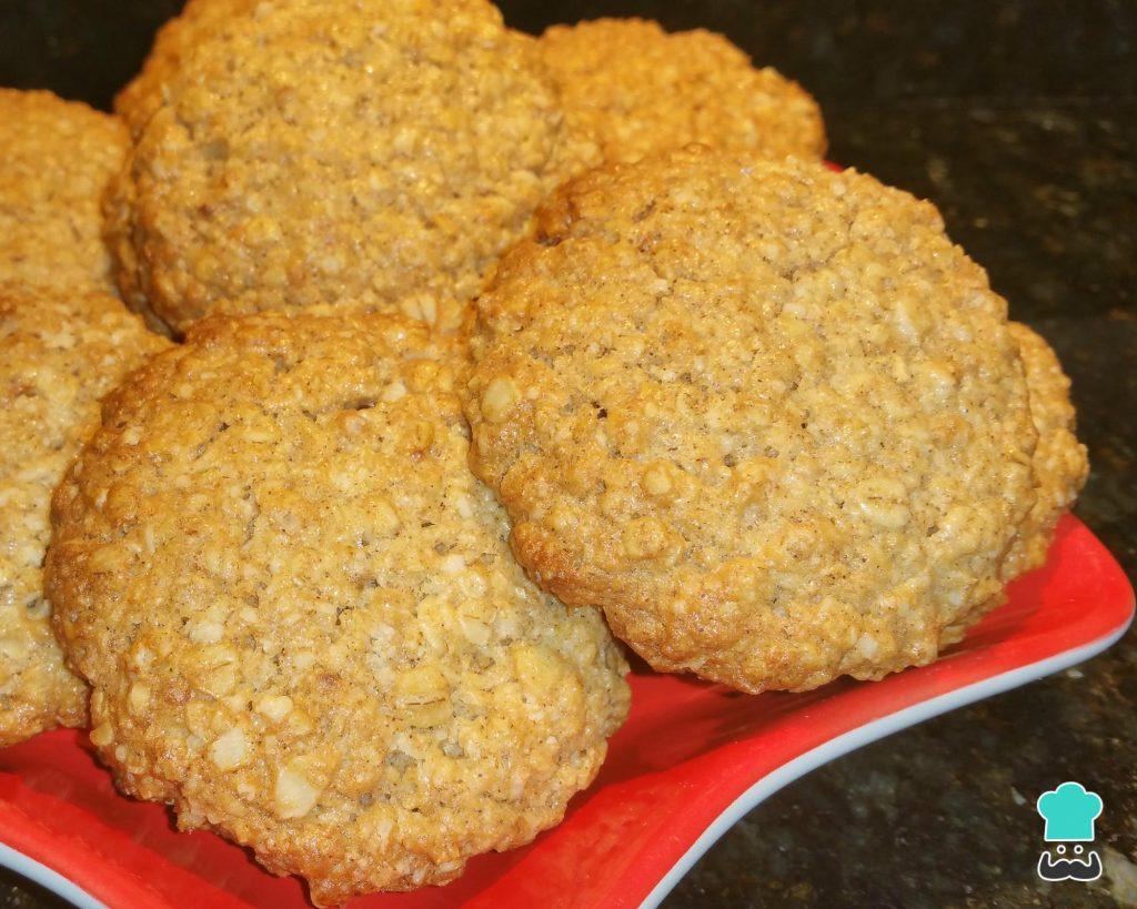 Receita de biscoito de aveia