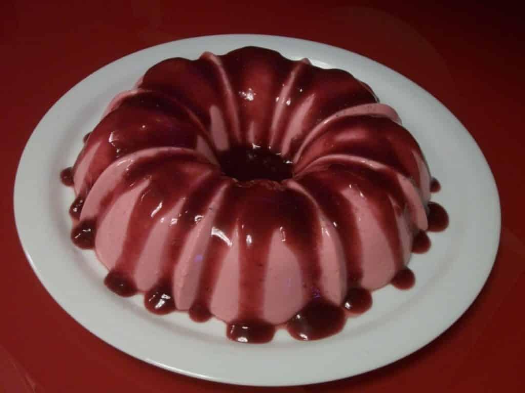 Receita de flan de gelatina