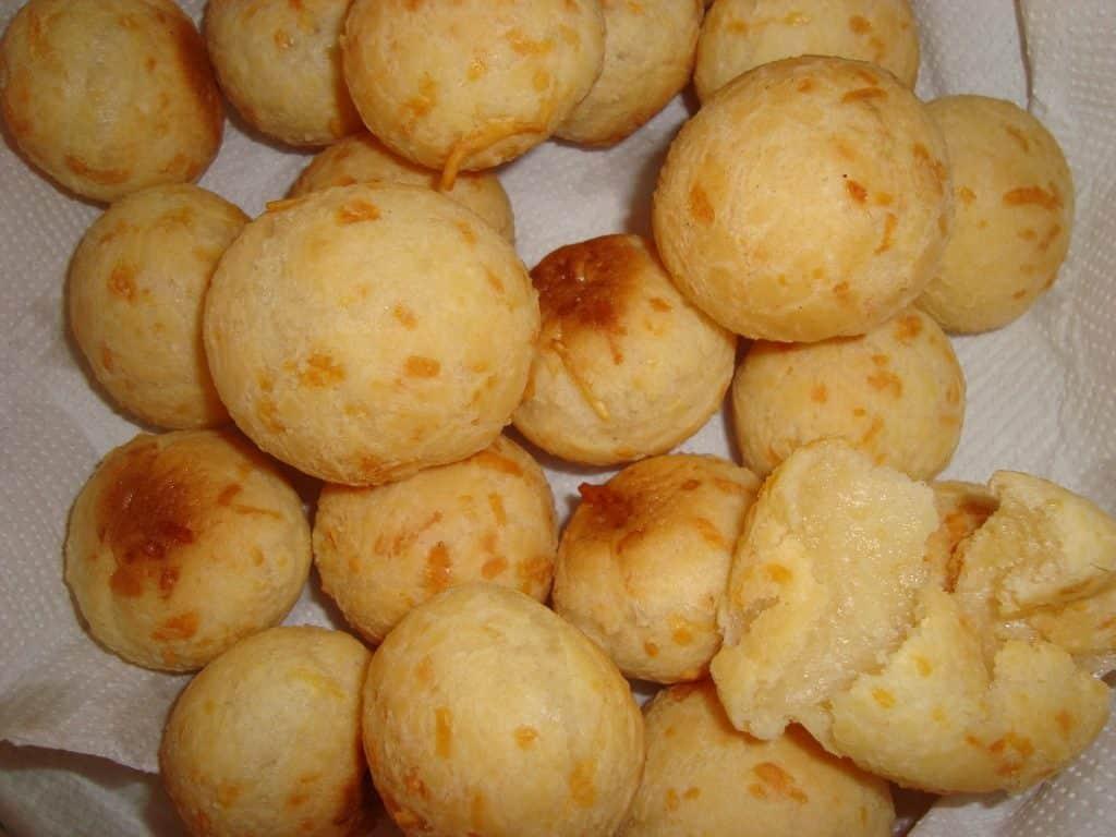 Receita de pãezinhos de queijo i
