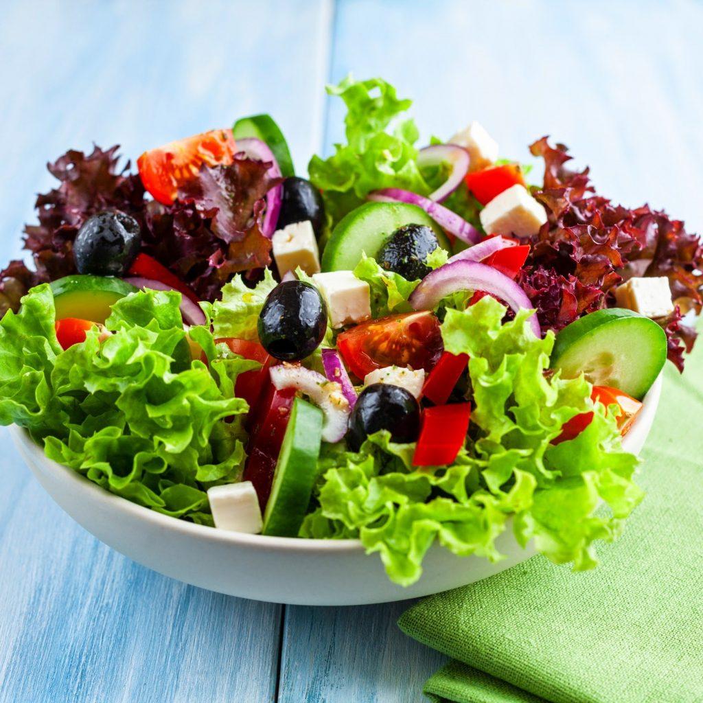 Receita de salada saborosa
