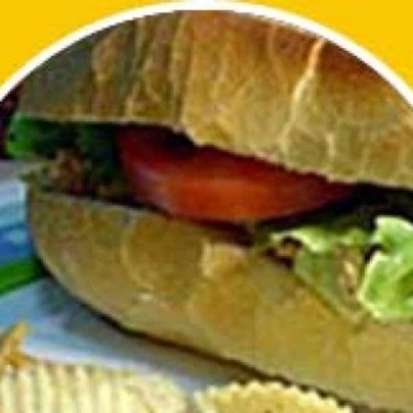Receita de sanduíche de carne assada à milanesa