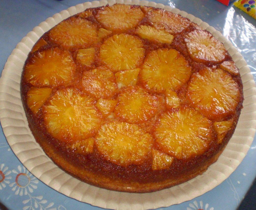 Receita de torta de abacaxi i