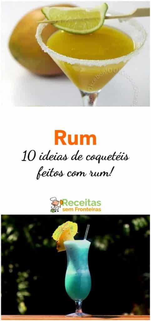 Receita de aperitivo de rum