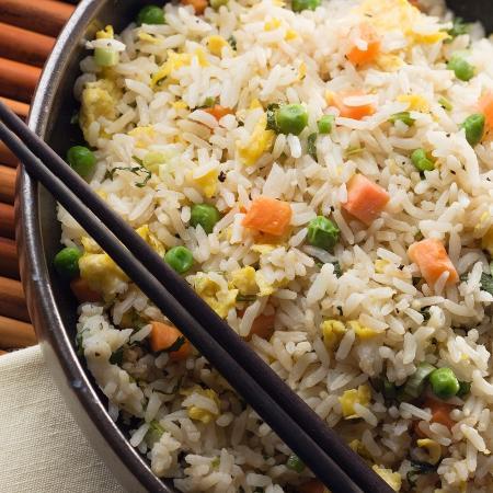 Receita de arroz primavera