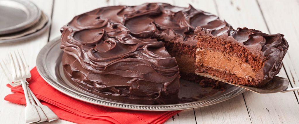 Receita de bolo mousse de chocolate