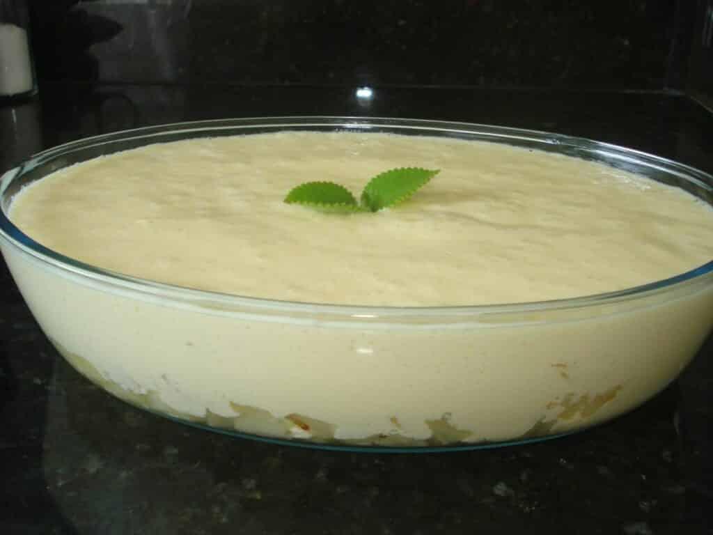 Receita de mousse de abacaxi com gelatina