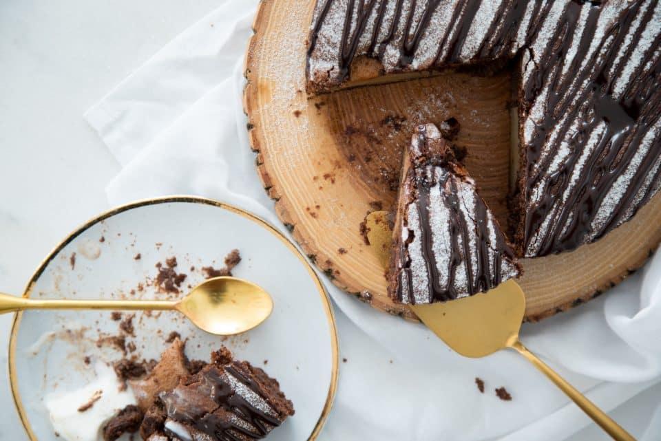 Receita de bolo de chocolate com pera sem glúten