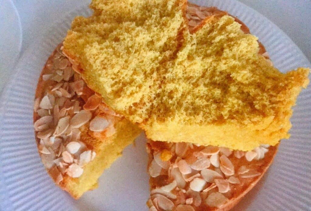 Receita de pão de ló sem glúten
