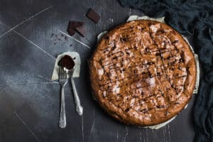 Receita de torta brownie