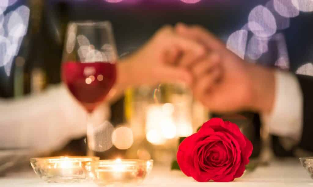 Receitas para um jantar de dia dos namorados romântico