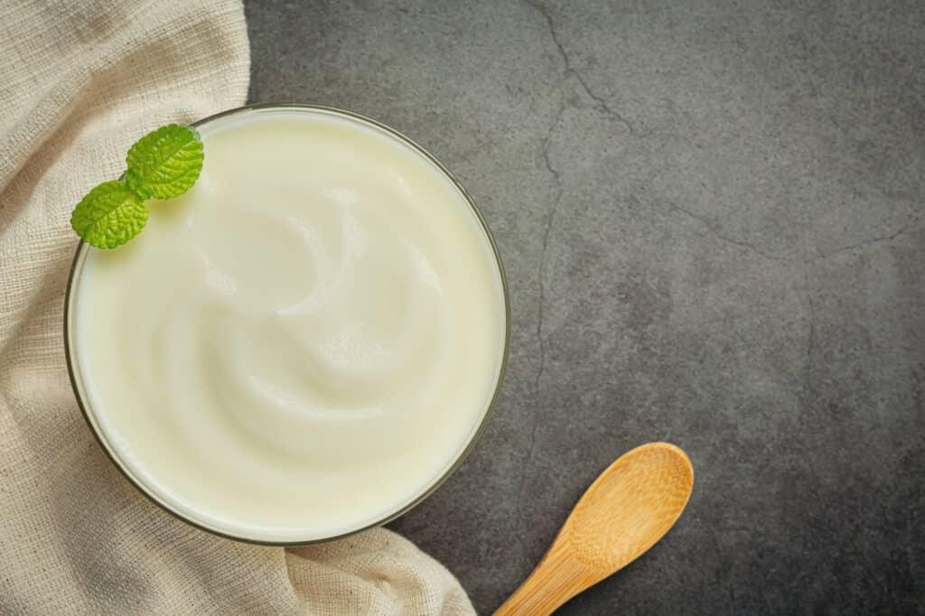 Receita de mousse de iogurte