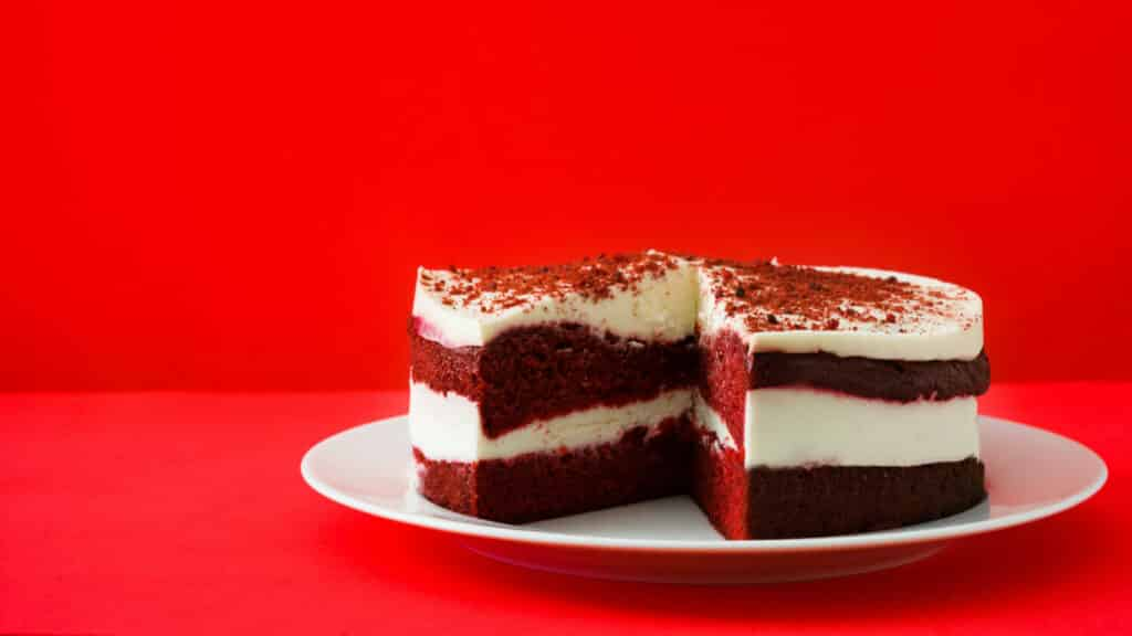 Red velvet (bolo vermelho aveludado)