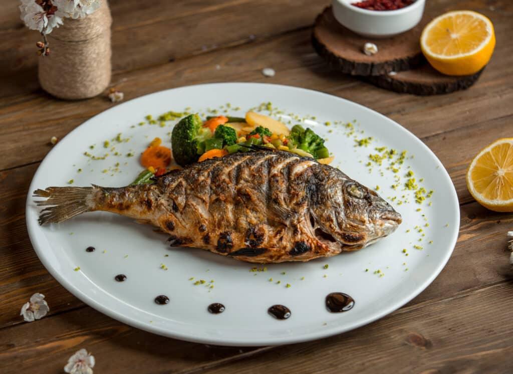Receita de peixe assado