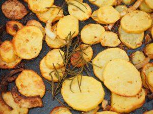 Receita de batatas à portuguesa